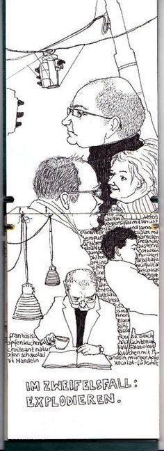 from my Vienna Sketchbook www.illuninare.de