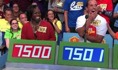 In the beginning of each episode, contestants on The Price is Right must guess the price of an item in order to advance to the next round of the show, known as contestants' row.