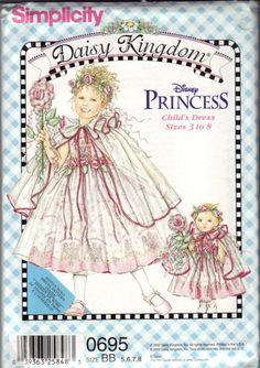Simplicity Daisy Kingdom Girls Princess Dress by AnothersTreasures, $3.00