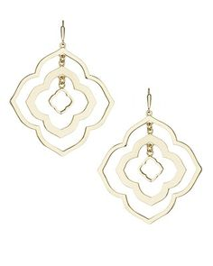 Darenda Earrings in Gold - Kendra Scott Jewelry.  Coming soon!