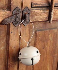 white sleigh bell