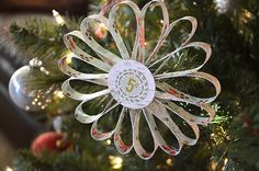 Wendy Sue shared a quick & easy tutorial on handmade paper ornaments. Who said beautiful ornaments had to be expensive? http://create.northridgepublishing.com/wow-158-paper-ornament/
