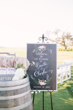 welcome wedding sign=Beautiful