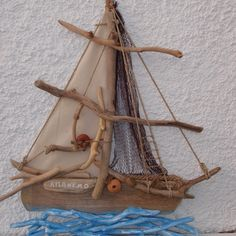 DRIFTWOOD BOAT.ΠΛΟΙΑ ΘΑΛΑΣΣΟΞΥΛΑ