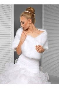 cape chle tole bolro de mariage fausse fourrure accessoires de la marie soire - Bolero Plume Mariage
