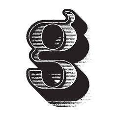 G for @36daysoftype #36daysoftype #36days_g #36daysoftype04 #g #typeinspire #typography #type #woodcutstyle #vector #whatistheairspeedvelocityofanunladenswallow