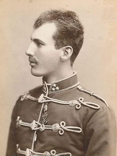 Archduke Eugen of Austria (1863-1954). A highly-decorated soldier, he attained the rank of Field-Marshal in WWI.