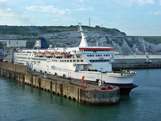 Dover Ferry Port, UK