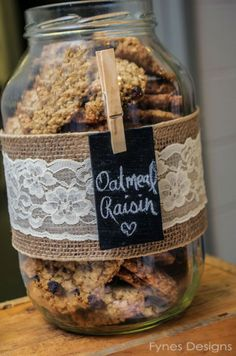 cute way to set cookies out, especially if using a map label or map-inspired clothespin