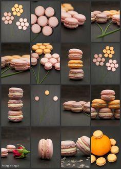 Un bouquet di macarons per le (st)renne di Maggio