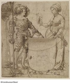 Deutsch (zugeschrieben / attributed to) Bern um Fantasy Inspiration, Painting Inspiration, Renaissance Image, 16th Century Clothing, Medieval, German Outfit, Landsknecht, German Women, Albrecht Durer