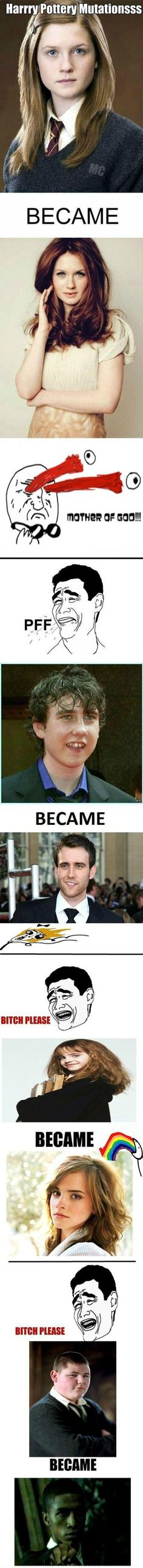 Harry Potter Mutations, made me laugh