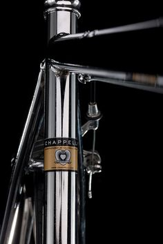 Chappelli Cycles - the chrome look is gorgeous, but only if you keep it immaculately clean. This would be very high maintenance.