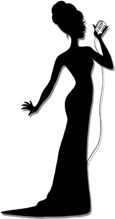 female silhouette singers - Bing Images