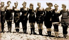 victorian era bathing suit | The surprising history of the swimming suit | Plotki