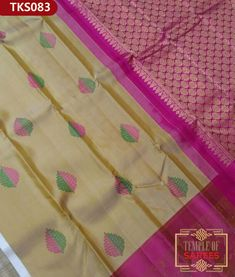 Temple of Sarees Celebrates only fine quality Sarees each is unique with variety from Original Kanchipuram silk to Designer sarees by the best professionals Indian Silk Sarees, Pure Silk Sarees, Hologram, Blouse Designs, Loom, Traditional, Pure Products, Fresh, Shopping