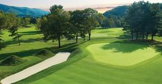 The Old White Course - Home of The Greenbrier Classic on the PGA Tour. Opened in 1914 and named after a hotel which stood on the grounds until 1922.