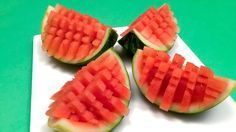 How to Beautifully Serve a Watermelon (HD)