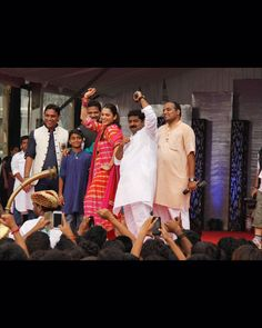 Actress Ishaa Koppikar who has been missing from the limelight joined the Dahi Handi celebration at Vileparle.