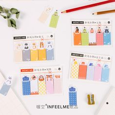 Japanese Style Sticky Notes DIY Post It Bookmark Stickers Cute Diary Decor Sticker Memo Pads Kawaii Notepad Gifts Stationery #Affiliate