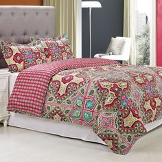 Simple Luxury Wildberry 3 Piece Reversible Duvet Cover Set Size: King/California King