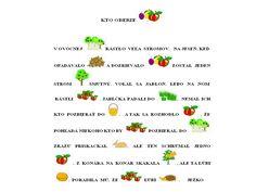 Kto oberie ovocie 1 (prebrané)