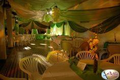 como decorar un salon de fiestas con telas - Buscar con Google