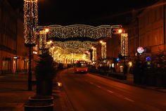 Christmas Lights at Warsaw