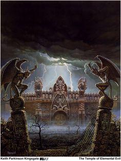 Keith Parkinson - castle Ravenloft
