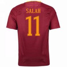 16-17 Roma Home #11 Salah Cheap Replica Jersey [G00833]