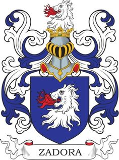 Zadora Family Crest and Coat of Arms