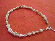 pretty shell ankle bracelet/anklet holiday/summer/beach