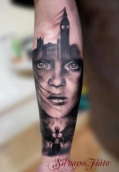 Now that's cool. Not huge crazy about the angel....but super cool. Artist: Silvano Fiato