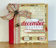 Blessed Scrapper: Simple Stories: December Daily Blog Hop! Album with lots of photos and ideas!