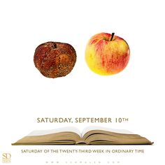 https://www.facebook.com/TodaysGospelReading/  www.Schmalen.com  Today's Gospel Reading: Saturday, September 10th
