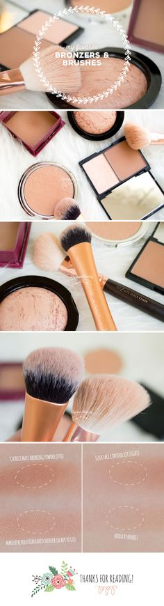 My Favorite Bronzers & Brushes [german & english]  http://www.styrianbeautyblog.com/?p=192