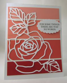 Personally Yours: Paint Chip Inspiration #29: Rose Garden Thinlit