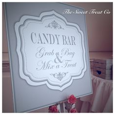 The Sweet Treat Co Candy Bar at Luttrellstown Castle, Ireland. Vintage Candy Buffet, Diy Party Decorations, Buffets, Confectionery, Wedding Events, Ireland, Sweet Treats, Castle, Bar