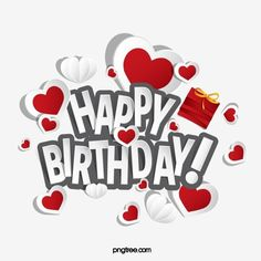 Happy Birthday Cartoon Images, Happy Birthday Logo, Happy Birthday Balloon Banner, Happy Birthday Wishes Quotes, Happy Birthday Celebration, Birthday Letters, Happy Birthday Gifts, Birthday Love, Heart Vector