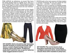 ad1547a9fb28c apple hour glass Trinny and Susannah reveal 12 women s body types - which  are you
