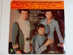 "Star Trek - Original Stories for Children - Action Adventure - ""The Robot Masters"" - Peter Pan Records 1979 - Vintage Vinyl LP Record Album"