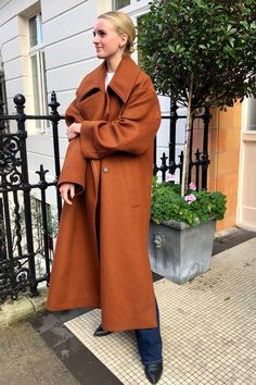 Joy Montgomery coat edit Uk Fashion, Fashion Editor, Autumn Fashion, Tweed Coat, Shearling Coat, Wool Coat, Wardrobe Fails, Tailored Coat, Belted Coat