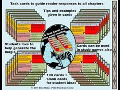 Life of Pi   Brain Based Task Cards   Students love the sheer magic in this novel and in materials designed to engage them actively in Pi's awesome adventures!   https://www.teacherspayteachers.com/Product/Complete-Life-of-Pi-Novel-Unit-with-Brain-Based-Tasks-1057642  Finally a novel - that students and teachers both love, and these student-ready (no prep) materials will keep readers interested until the last page. They also love the innovations invited from them along the way, as Pi…