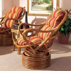 Boca Rattan Delta Swivel Lounge Chair is part of Living Room Chairs Unique - Rattan Side Table, Dining Chair Set, Living Room Chairs, Dining Room, Papasan Chair, Swivel Armchair, Propane Fire Pit Table, Fire Table, Glass End Tables