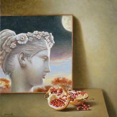 Pinzellades al món: Il·lustracions d'Antonio Nunziante: classicisme surrealista In The Flesh, Figurative, Symbols, Abstract, Painting, Art, Summary, Painting Art, Paintings
