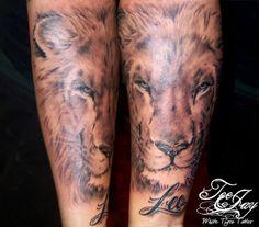 Leo tattoos