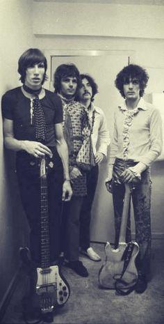 Pink Floyd in Aarhus,Denmark 1967