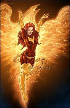 Dark Phoenix by VinRoc on DeviantArt Ms Marvel, Marvel Girls, Marvel Dc Comics, Marvel Females, Marvel Villains, Marvel Heroes, Jean Grey Phoenix, Phoenix Art, Dark Phoenix