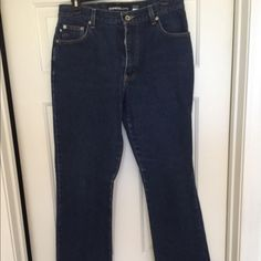 EXPRESS JEANS Blue jeans by express boot cut 9-10 longs Express Jeans Boot Cut