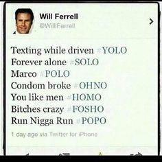 Funny Tweets Will Ferrell
